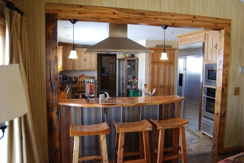 Rustic Kitchen Remodel Gorgeous Ascent Home Builders  Bozeman Mt » Rustic Kitchen Remodel Decorating Inspiration
